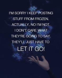 Frozen. Ha. So true