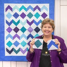 Discover a gem of quilt with the Treasure Box Quilt, Jenny's newest free quilting tutorial! This easy DIY makes a wonderful gift for a new baby! Star Quilt Patterns, Star Quilts, Easy Quilts, Quilt Blocks, Missouri Quilt Tutorials, Quilting Tutorials, Quilting Projects, Msqc Tutorials, Quilting Tips