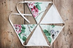Floral 'Florence' Bunting / Banner / Pennant by annasbluebellblue Bunting Banner, Banners, Etsy Handmade, Handmade Gifts, Shark Tank, Small Businesses, Photo Props, Florence, Garland