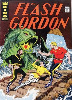 Flash Gordon por Reed Crandall, 1967 #graphicdesign #popculture #comics #vintage #flashgordon #cover