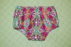 Diaper/nappy cover pattern
