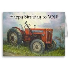 Birthday Quotes : Birthday – Old International Farm Tractor Greeting Card… Happy Birthday Niece Messages, Happy Birthday For Her, Birthday Cards For Brother, Birthday Wishes Quotes, Happy Birthday Images, Happy Birthday Greetings, Men Birthday, Birthday Uncle, 123 Greetings