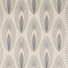 iLiv Elements Arrow Leaf Wallpaper in Graphite - £24.95 #interiordesign #interiordesigntrends2017 #homedecor #designtrends