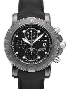 104279  NEW MONTBLANC SPORT DLC CHRONOGRAPH AUTOMATIC MENS LUXURY WATCH IN STOCK - Click to View our Doorbuster Watch Specials!   - FREE Overnight Shipping | Lowest Price Guaranteed    - No Sales Tax (Outside California) - With Manufacturer Serial Numbers- Black Dial - Chronograph Feature- Date Feature-  Self Winding Automatic Movement- 46 Hour Power Reserve- Lifetime Warranty Included ($295 Value) - Guaranteed Authentic - Certificate of Authenticity- Manufacturer Box