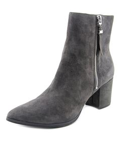 MICHAEL MICHAEL KORS | Michael Michael Kors Womens Dawson Leather Pointed Toe Ankle Fashion Boots #Shoes #Boots & Booties #MICHAEL MICHAEL KORS
