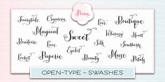 Peoni lettering font