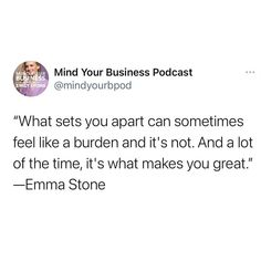 A lot of the time, it's what makes you great. Mind You, Mindfulness, Feelings, Business, How To Make, Store, Business Illustration, Consciousness