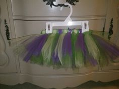 Tutu for girl's mutant ninja turtle costume