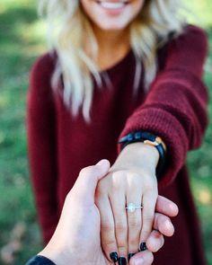 Casal - anel - noivos