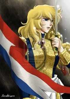 Lady Oscar by ~LORELEI-LilyPrincess on deviantART