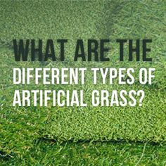 Different types of artificial grass offer a wide selection to choose from in different price ranges. http://www.heavenlygreens.com/blog/artificial-grass-types @heavenlygreens