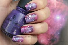 Purple Galaxy.