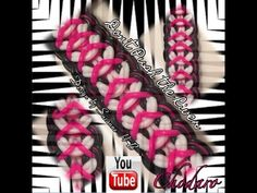 Rainbow Loom Don't Push The River Bracelet Tutorial - YouTube