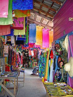 """Straw Market"" aka 'Craft Market', Montego Bay Jamaica"