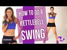 This Kettlebell Fat-Burning Workout will help you shed excess pounds & inches, increase your strength, and provide you with a new fit figure. Kettlebell Workout Routines, Best Kettlebell Exercises, Calf Exercises, Kettlebell Training, Kettlebell Swings, At Home Workouts, Cardio, Hiit, Body Workouts