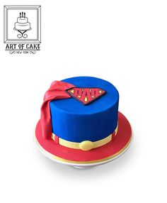 Superman Dad Father's Day Cake