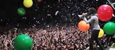 Ayer se inició una nueva edición del festival musical Primavera Sound 2013 en Barcelona.