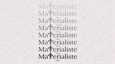 Matérialiste  http://www.materialiste.com/