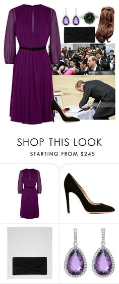 """""""DAY 6: TRH The Duchess and Duke of Lumire on Royal Tour of Japan"""" by kingdomofborduria ❤ liked on Polyvore featuring MaxMara and Gianvito Rossi"""