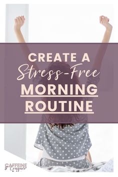 """If you're searching for morning routine ideas, or just to be more productive during your morning routine, this latest self-help book by Amy Landino is life-changing! """"Good Morning Good Life"""" is a self-help book for women that encourages success in the early hours by focusing on a growth mindset and a few easy habits you can change. Click to learn more. #selfhelp #morningroutineideas #productivemorningroutine Anxiety Relief, Stress Relief, Motivational Blogs, Mental Health, Women's Health, Negative Self Talk, Empowering Quotes, Morning Motivation, Self Care Routine"""