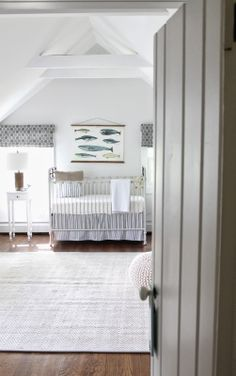 the picket fence projects: gorgeous nautical nursery with diy changing table