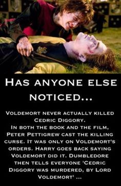Oh...my...blimey Rowling your good