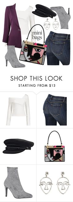 """Picasso"" by astrild15 on Polyvore featuring J Brand, Prada, MANGO and Claude Montana"
