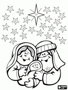 Christmas Advent Coloring Pages To Print Free - Free Coloring Sheets Preschool Christmas, Christmas Nativity, Christmas Crafts For Kids, Christmas Activities, Christmas Printables, Christmas Colors, Christmas Traditions, Christmas Fun, Holiday Fun