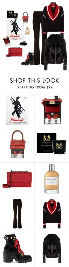 """""""Sweep"""" by juliabachmann ❤ liked on Polyvore featuring Kate Spade, Parfums de Marly, Bottega Veneta, Alice + Olivia, Burberry, Gucci and Elie Saab"""