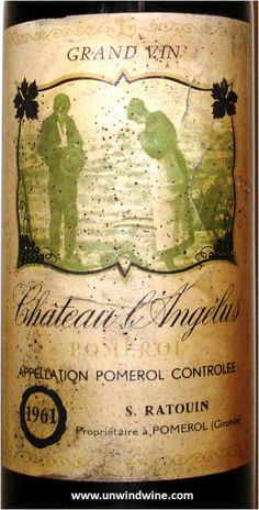 French Label /Bordeaux/Pomerol