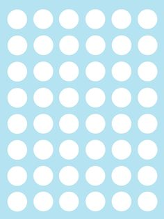 Make it...Create--Printables & Backgrounds/Wallpapers: Patterns-Polka dots-Baby Blue