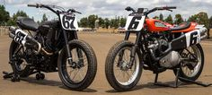 The XG750R Flat Track Motorcycle is Harley-Davidson's first flat track race bike in 44 years