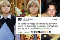 18 Times The Sprouse Twins Absolutely Roasted Each Other On Twitter http://www.shenhuifu.org/2017/04/04/funny-sprouse-twins/ #dylansprouse #celebrity #bro #brother #siblings