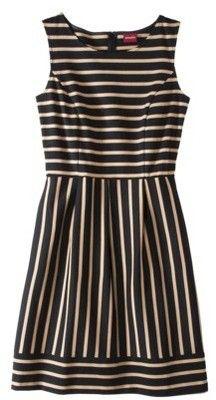 Merona Women's Ponte Stripe Dress - Assorted Colors