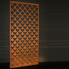 Our simple arrow designed metal screen provides good block out while also adding texture and beauty to any area.