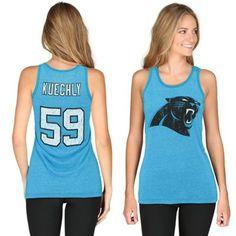 Blue Luke Kuechly Panthers Tank $39