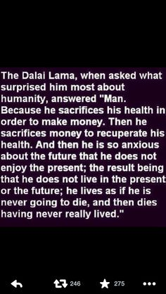 Words from the Dalai Lama. Wisdom Quotes, Quotes To Live By, Me Quotes, Epic Quotes, Yoga Quotes, Dalai Lama, Spiritual Wisdom, Buddhist Wisdom, Family Love