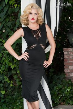 Get To The Point Dress in Black; Cant wait for this beauty to arrive!