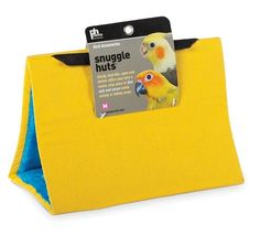 Medium Yellow Snuggle Hut for Birds by Prevue Pet 1163