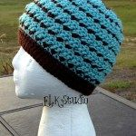 Made for the Cold Beanie Top Down Version - ELK Studio - Handcrafted Crochet Designs