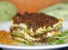 Cantinho Vegetariano: Lasanha de Abobrinha com Carne de Soja (vegana)