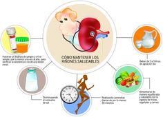 Los diabéticos e hipertensos deben cuidar sus riñones