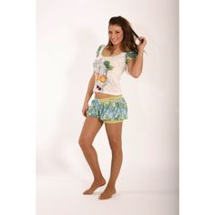 Wrinkle t-shirt - Bubble short #moda #summer