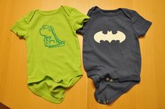 great tutorial on how to make these decorated onsies. could be used for so many other things too!