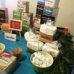 @mallowandhop sampling delicious marshmallow bars #popupshop #atwatervillage #myglendaleca