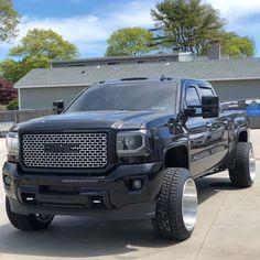Jacked Up Trucks, Gmc Trucks, Gmc Denali Truck, Haha Funny, Dream Cars, 4x4, Chevrolet, Stance Nation, Vans