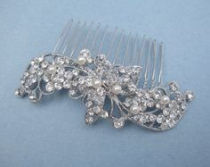 pearl bridal hair comb,wedding hair accessories,bridal accessories,wedding hair comb,crystal wedding comb,wedding jewelry bridal,comb pearl