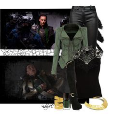 """""""Loki - Marvel's Thor & Avengers - Battle between the Avengers - Round One"""" by rubytyra on Polyvore"""