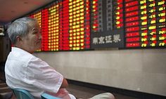 Chinese shares are falling, but the real fear is that the economy itself is slowing   Business   The Guardian