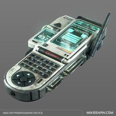 ArtStation - MGD-09 Programming Device, Mike Garn